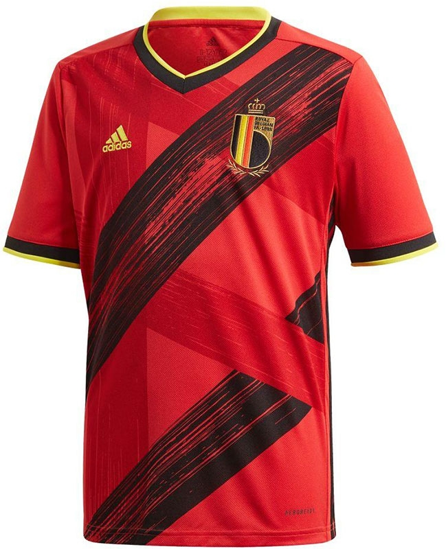 adidas België Thuis Shirt Kids